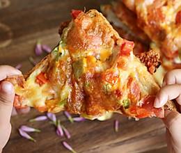 懒人吐司披萨的做法