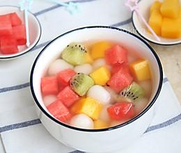 缤纷水果小汤圆的做法
