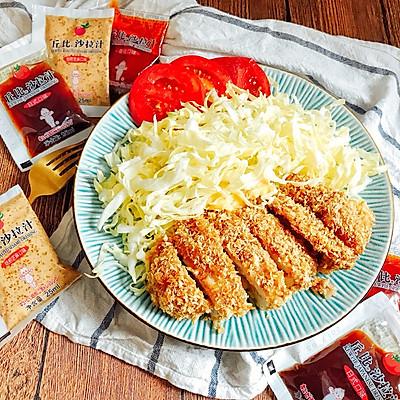 日式烤猪排 健康免油炸