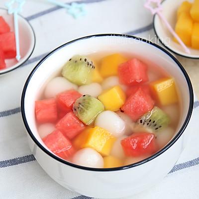 缤纷水果小汤圆