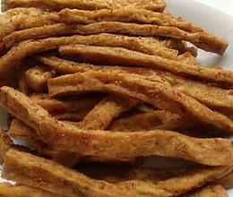 追剧小零食――孜然豆腐干的做法