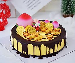 寿星公芒果慕斯蛋糕的做法