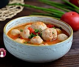 番茄鱼丸汤的做法