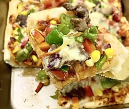8寸牛肉蔬菜披萨的做法