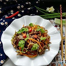 #花10分钟,做一道菜!#凉拌牛百叶