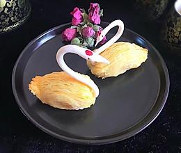 #年味十足的中式面点#天鹅榴莲酥的做法