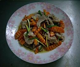 红菜头炒瘦肉的做法
