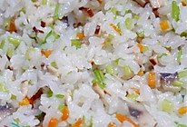 电饭锅菜饭(懒人食谱)的做法