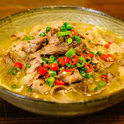 酸汤肥牛|美食台