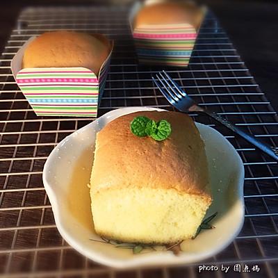 不缩不裂的杯子蛋糕