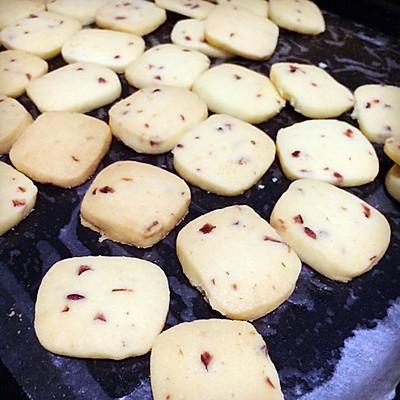 饼干 蔓越莓饼干 超级简单~的做法 步骤9