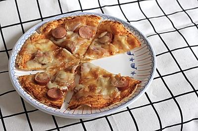 15分钟快手脆薄披萨