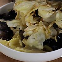 健康便当23(南瓜糙米饭+柠檬鸡丝+干锅包菜)的做法图解8