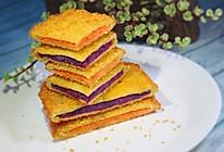 #硬核菜谱制作人#快手早餐——双薯三明治的做法