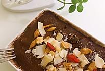 低卡可可香蕉燕麦盒子的做法
