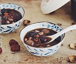 红豆桂圆补血汤的做法