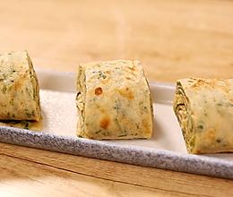 香椿千层饼—迷迭香的做法