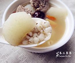 【山药薏米炖排骨】健脾祛湿 润肺益气的做法