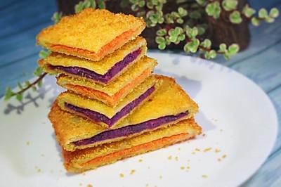 快手早餐——双薯三明治
