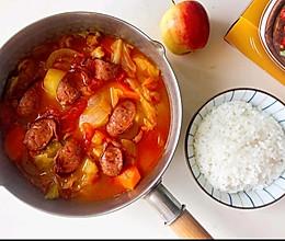 用电饭锅就能做出中餐厅同款酸甜开胃的罗宋汤啦!的做法