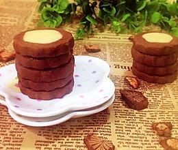 黄油可可曲奇饼干# 百吉福芝士力量#的做法