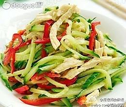 黄瓜拌鸡丝的做法