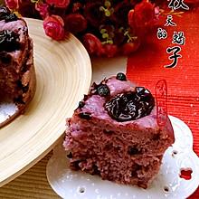 红枣紫薯发糕#自己做更健康#