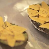 牛油果焗蛋#爱的味道#的做法图解4