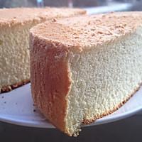 六寸超柔软戚风蛋糕的做法图解8