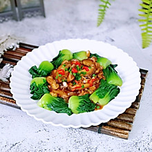 #钟于经典传统味#蚝油香菇菜心