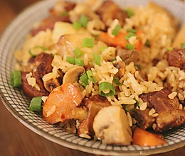 有肉有菜又有饭的一锅端美食的做法