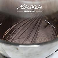新红与黛绿-草莓巧克力裸蛋糕的做法图解4
