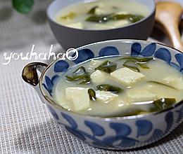日式豆腐海带味增汤的做法