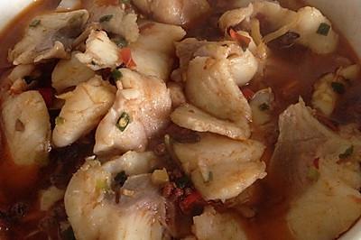 家庭版水煮鱼-油少鱼多中辣