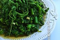 清炒南瓜藤菜的做法