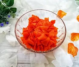 平底锅版胡萝卜干的做法