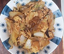 美味家常菜!长安乱炖!(西安版猪肉白菜炖粉条)的做法