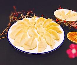 #硬核菜谱制作人#时令萝卜缨素馅蒸饺 蒸的好吃味儿鲜美的做法