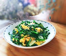 #花10分钟,做一道菜!#清炒韭菜鸡蛋的做法