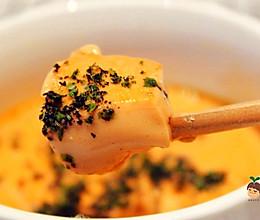 宝宝辅食:橙色能量蛋羹的做法