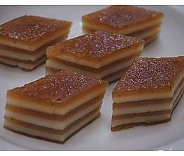 粤式椰汁红枣糕的做法