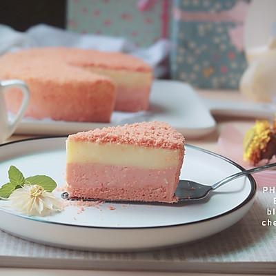 北海道双层芝士樱花蛋糕