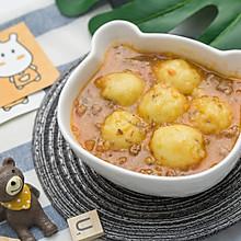 牛柳土豆圆子