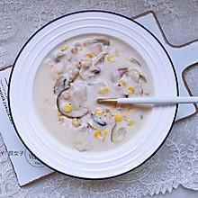 奶香蘑菇汤|又香又滑#麦子厨房美食锅#