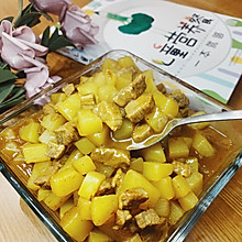 #餐桌上的春日限定#孩子都爱吃的咖喱牛肉土豆