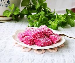 超简单‼️火龙果奶糕的做法