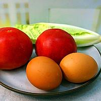 西红柿面疙瘩-----夏日开胃必备的做法图解1