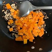 美味无敌的南瓜香菇饭#做道懒人菜,轻松享假期#的做法图解6
