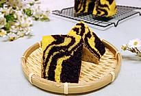 斑马纹黑米小米蒸糕的做法