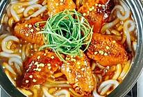 #肉食主义狂欢#可乐鸡翅拌面的做法
